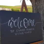 A Day in the Vineyard at Evan's Ranch